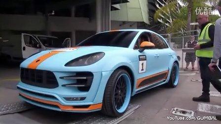 街拍Gulf涂装Hamann Porsche Macan S Diesel