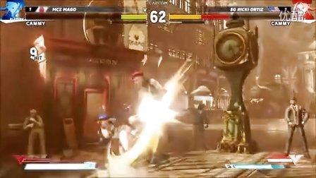 第1战 E3【街头霸王5】十二人职业锦标赛01:嘉米vs嘉米(Cammy) - 现场1对1 E3 2015 街霸5 Street Fighter 5