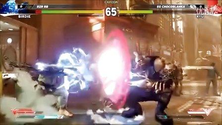 第2战 E3【街头霸王5】十二人职业锦标赛02:RYU(隆) vs BIRDIE(巴迪) -现场1对1 E3 2015 街霸5 Street Fighter 5