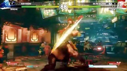 第3战 E3【街头霸王5】十二人职业锦标赛03:嘉米(Cammy) vs 巴迪(Birdie) -现场 E3 2015 街霸5 Street Fighter 5