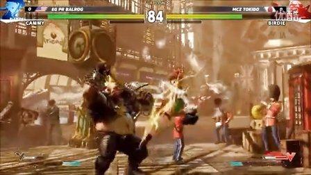 第10战 E3【街头霸王5】十二人职业锦标赛10:嘉米(Cammy) vs 巴迪(Birdie)-现场 E3 2015 街霸5 Street Fighter 5