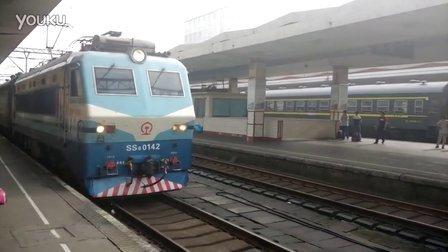 广铁广段SS8 0142 牵引T253次 天津至广州 进长沙站