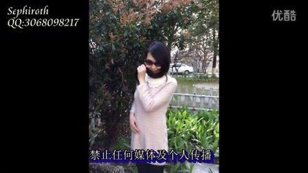 024 青春少妇花丛中剃发(The woman shave bald in flowering shrubs)