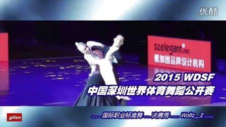【决赛秀_W2】2015中国深圳世界公开赛(国际公开标准舞)