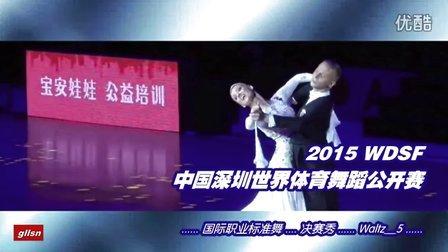 【决赛秀_W5】2015中国深圳世界公开赛(国际公开标准舞)