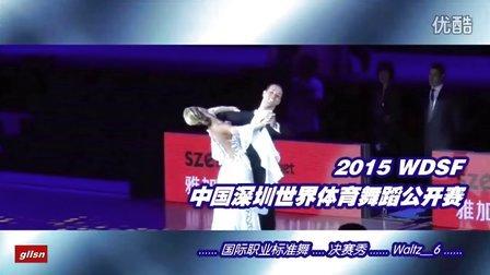 【决赛秀_W6】2015中国深圳世界公开赛(国际公开标准舞)