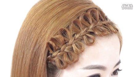 学完这款发型你会发现原来蝴蝶结这么好做 30秒搞定