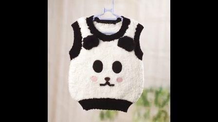 【artmay手工】第44集 棒针编织卡通造型宝宝婴儿背心之织领口、袖口及下摆