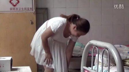 刘占朝赤医针灸埋线治疗美女痹症:肢体痉抽