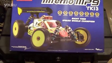 Kyosho Inferno MP9 TKI3 Unboxing 18 Scale Off-Road Nitro Buggy 《HD》