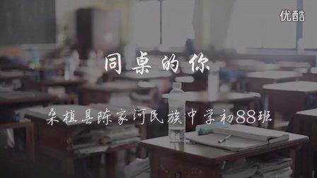 同桌的你 陈家河民族中学初88班19年纪念