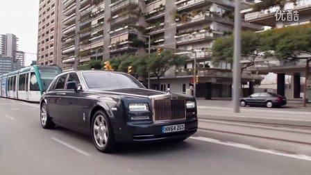 2015 劳斯莱斯幻影内饰及动态展示 Rolls Royce Phantom