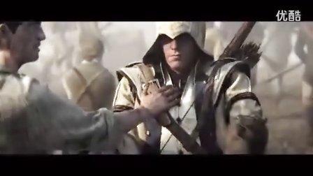 【刺客信条3 】主角(康纳)高清完整版游戏CG预告片头