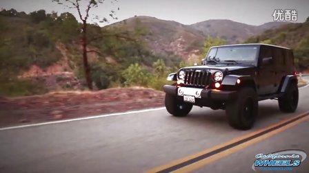 2015吉普牧马人撒哈拉 Jeep Wrangler Sahara 改装 Hostage 轮毂