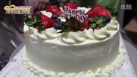 【草莓戚风奶油蛋糕】充满少女情怀
