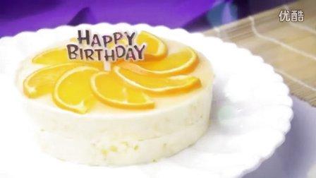 """【香橙慕斯蛋糕】""""橙心""""如意"""