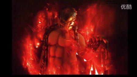 如何拍摄人站在火焰内的特效