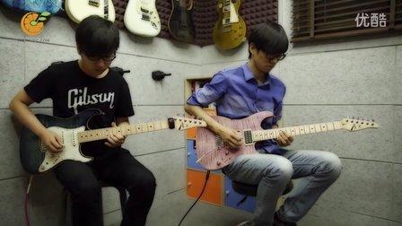 桔子音乐9人电吉他版《小水果》