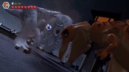 『苍岚』、乐高侏罗纪世界第十期 荧光棒引发的血案!