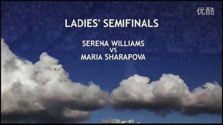 2015WC SF 莎拉波娃VS小威廉姆斯 (自制HL)