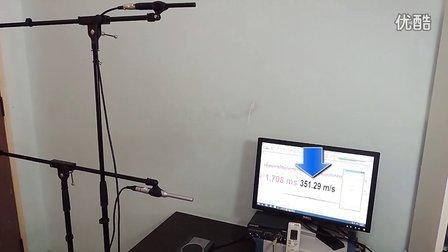 用互相关法加白噪声或最大长度序列MLS测量声速(中文)