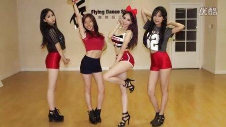 韩舞: SISTAR - Shake it 舞蹈练习 (天舞)温哥华