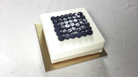 香满月手作 2015 一周年庆 蓝莓双层芝士慕斯蛋糕 51
