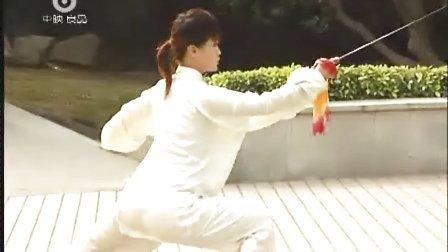 陈式太极剑49式教学3 马畅(全段演示)