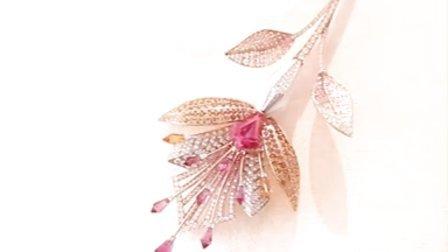 Boucheron宝诗龙2015全新高级珠宝:Fleur de Lotus项链
