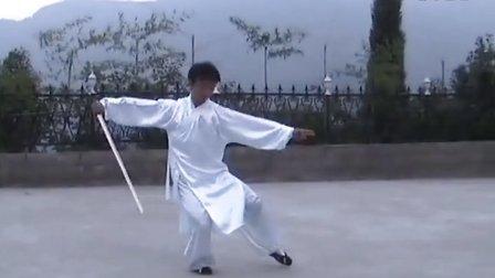 武当太乙玄门剑慢速版_陈师行玄门剑慢速演练