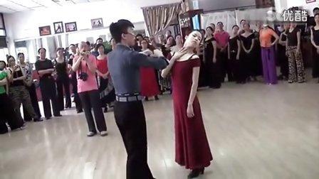 摩登舞精髓【探戈舞女士的头位】
