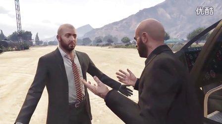 【少帅麦克斯】侠盗飞车5 40 大干一票【GTA5 PS4】全程娱乐实况解说