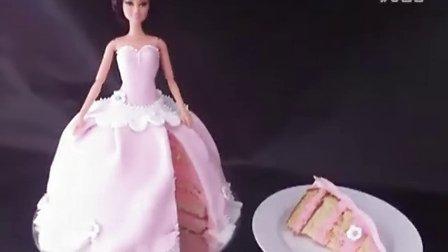 创意翻糖蛋糕 公主蛋糕制作教程