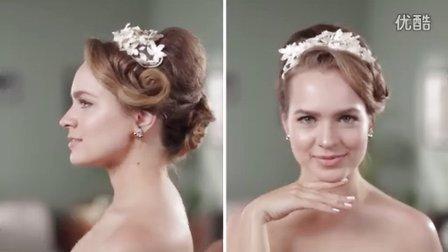 两分钟-美女带你领略60年代至今的欧式婚礼发型