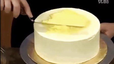 9  蛋糕制作韩式裱花wilton蛋糕奶油霜抹刀抹面方法