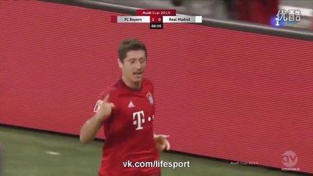 [高清全场集锦]奥迪杯-穆勒中柱莱万绝杀 拜仁1-0胜皇马夺冠