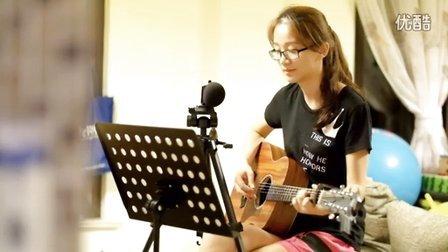 玫瑰 女生吉他弹唱 贰佰