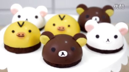 创意翻糖蛋糕 动物甜品蛋糕制作教程