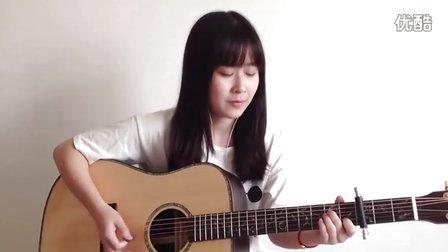 吉他弹唱《喜剧之王》妹子Nancy