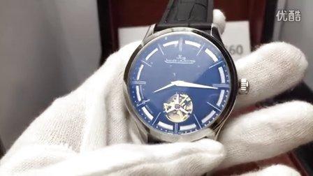 85积家飞轮男士自动机械表 小牛皮表带 上海高仿手表哪里卖