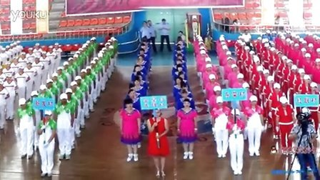 舞动龙江 集贤镇首届广场舞大赛站前村健身操表演