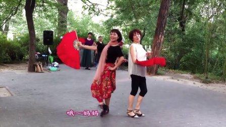 紫竹院广场舞——你的生命如此美丽-模特走秀(带歌词字幕)