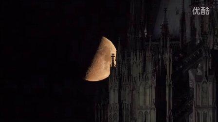 德国的月亮就是大!就是大!就是大!