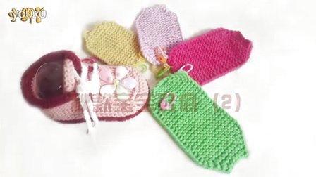 【小脚丫】(秋款宝宝鞋底2)秋款宝宝毛线鞋的钩法毛线的钩法婴儿毛线鞋编织的全部视频