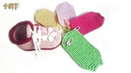 【小脚丫】(5色花秋款宝宝鞋1)秋款宝宝毛线鞋的钩法毛线的钩法婴儿毛线鞋毛线编织步骤