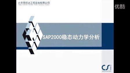 SAP2000稳态动力分析