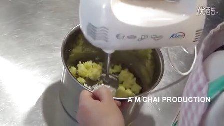 【m chai channel】vol.109爱心DIY切片杏仁曲奇制作(cx610e)