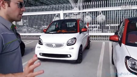 2016 smart fortwo cabrio 实车体验