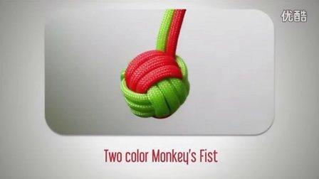 『伞绳小球』手工教程