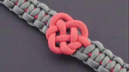 『伞绳手链』手工教程